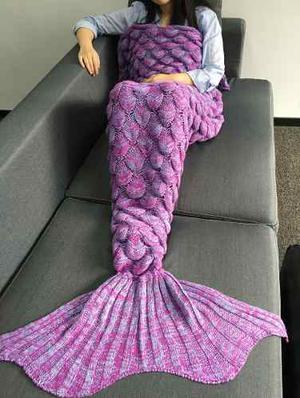 Crochet Tejido De Punto De Escalas De Peces Diseño De Corte