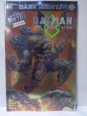 Dark Nights Metal Batman Devastator Vol.1 Dc Televisa 2018