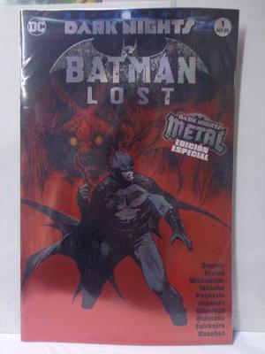 Dark Nights Metal Batman Lost Vol.1 Dc Televisa 2018