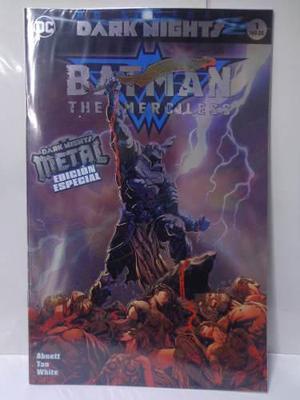Dark Nights Metal Batman Merciless Vol.1 Dc Televisa 2018