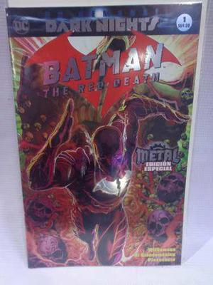 Dark Nights Metal Batman Red Death Vol.1 Televisa 2018