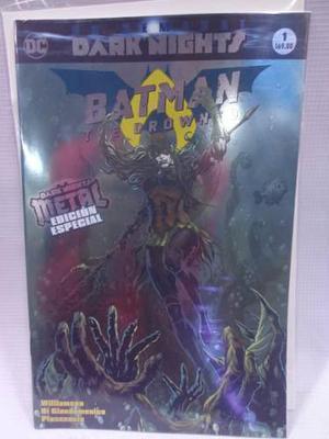 Dark Nights Metal Batman The Drowned Vol.1 Dc Televisa 2018