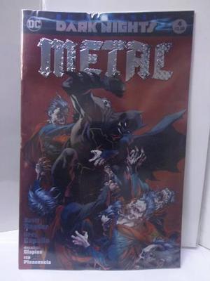 Dark Nights Metal Vol.4 Variante Jim Lee Dc Televisa 2018