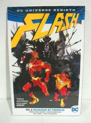 Dc Comics Flash Rebirth Vol. 2 Velocidad De Tinieblas Televi