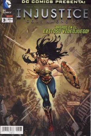 Dc Comics Injustice 03, 04, 05 Televisa Primer Año Gods A