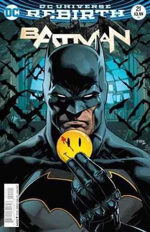 Dc Universe Rebirth Batman #21 The Button Lenticular Variant