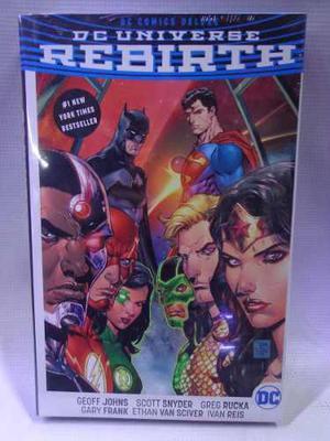 Dc Universe Rebirth Dc Comic Deluxe Pasta Dura