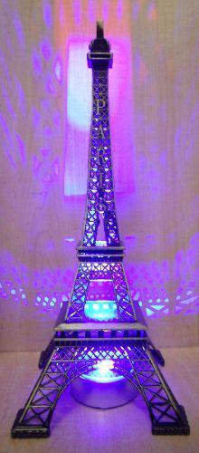 Decoración Vintage Torré Eiffel París 32 Cm Metal