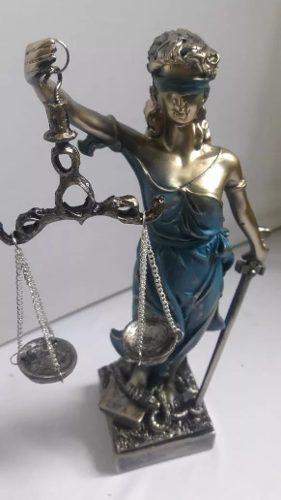 Diosa De La Justicia De 30 Cm Resina