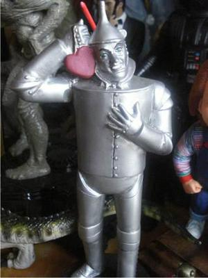 El Mago De Oz / Figura De Resina Del Hombre De Hojalata