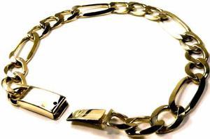 Esclava Pulso Tipo Cartier Oro Macizo 10k. 20grs Garantizado