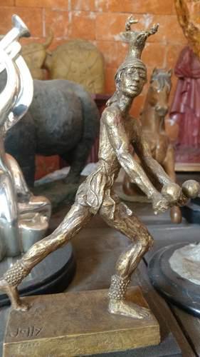 Escultura Bronce Danza Del Venado Enrique Jolly