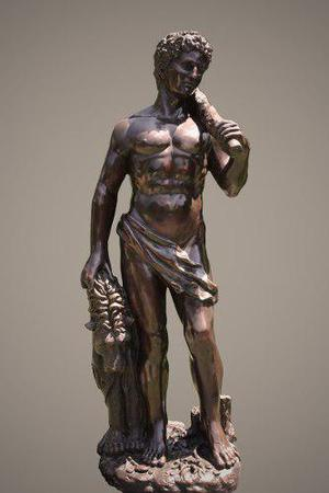 Escultura Bronce Heracles O Hercules Clasica
