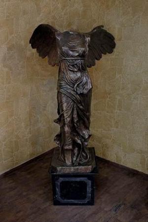 Escultura Bronce Monumental Victoria De Samotracia