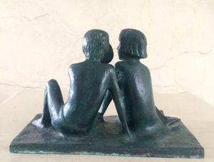 Escultura De Bronce Italia