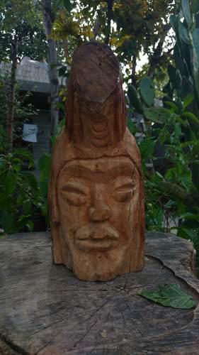 Escultura De Madera De Sabino