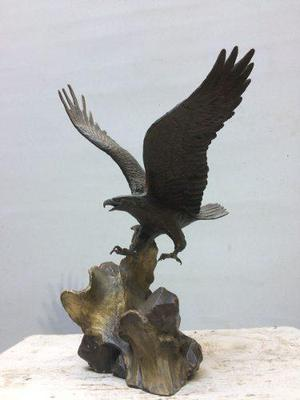 Escultura En Bronce Wings Of Glory De Ronald Van Ruyckevelt