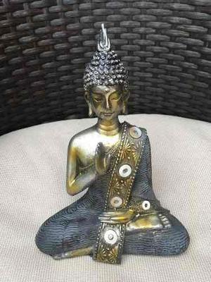 Estatua De Buddha Abhaya Mudra Protección Envío Gratis