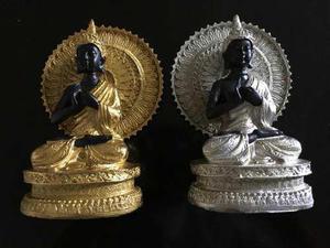 Estatua De Buddha (buda) 2 Colores A Elegir