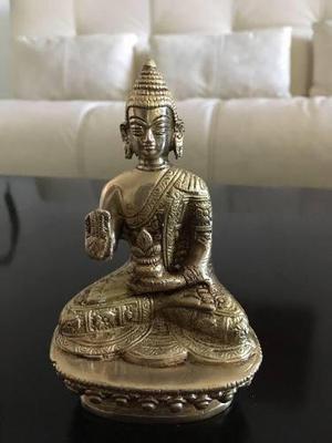 Estatua De Buddha (buda) Latón (bronce/zinc) (envío