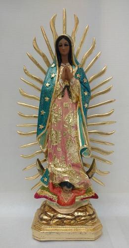 Figura De La Virgen De Guadalupe 50 Cm