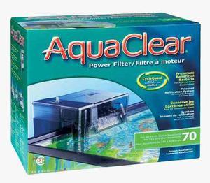 Filtro Cascada Aquaclear 70 Pecera De Hasta 265 Litros