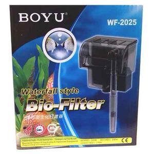 Filtro Cascada Boyu Wf2025 Para Acuarios Peceras Hasta 80lt