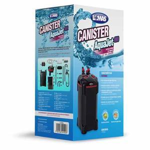 Filtro Externo De Canasta Aquajet 400 L Canister Con Cargas