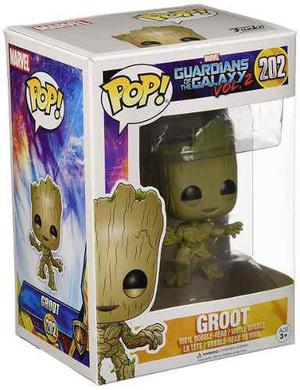 Funko Pop Marvel Guardians Of The Galaxy Groot 202 Funko