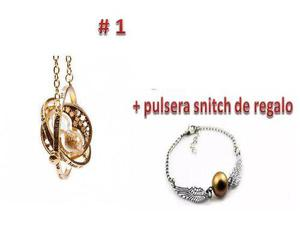 Giratiempo Harry Potter + Regalo Pulsera Snitch Varios Mode