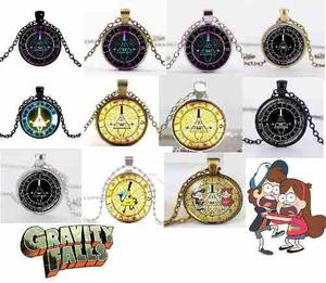 Gravity Falls Collar \dije Morado Serie Bill Dipper Mabbel