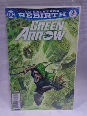 Green Arrow Rebirth Vol.3 Dc Comic´s Televisa 2018