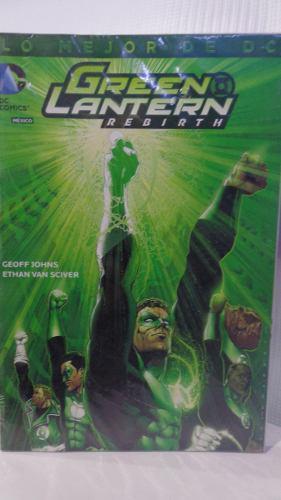 Green Lantern Rebirth Lo Mejor De Dc Vol.3