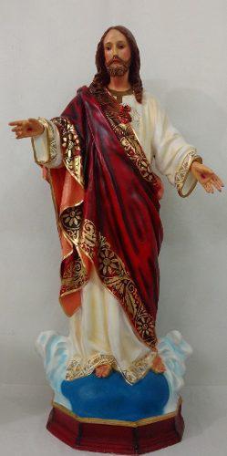 Imagen Del Sagrado Corozon De Jesus 130 Cm