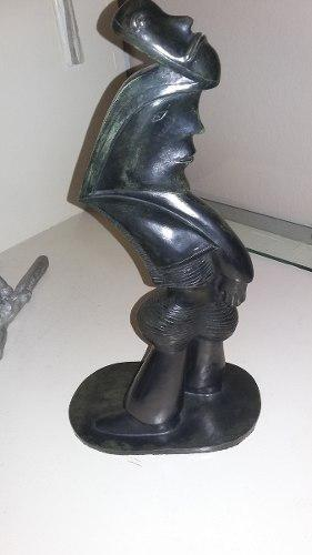 José Luis Cuevas Escultura En Bronce