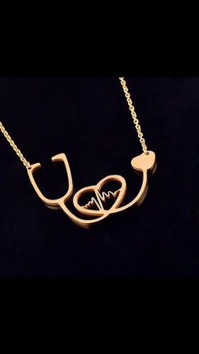 Joyería Para Doctor/regalo Para Doctor/collar Estetos