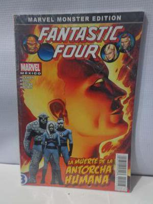 La Muerte De La Antorcha Humana Marvel Monster Edition