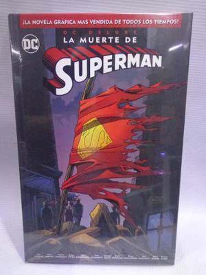 La Muerte De Superman Dc Deluxe Pasta Dura