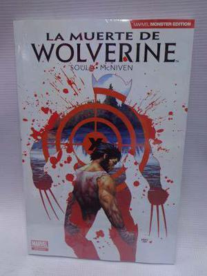 La Muerte De Wolverine Marvel Monster Edition