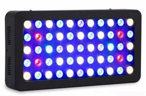 Lampara Manual Full Spectrum Dimeable 55 Leds Acuario Marino