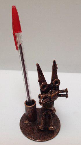 Lapicero Gato Modelo 1 Hecho De Metal / Fierro