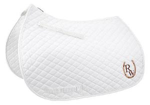 Mantilla Para Caballo Riding Warehouse Blanco Importada