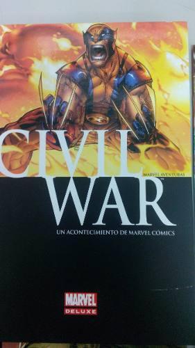 Marvel Civil War Secret War Comics