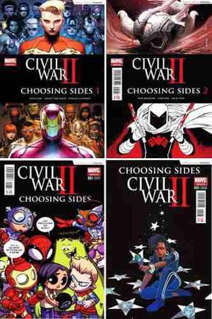 Marvel Comics Civil War 2 Ii Choosing Sides 1 2 3 Iron Man
