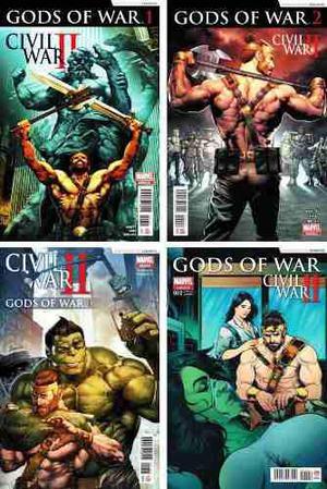 Marvel Comics Civil War 2 Ii Gods Of War 1 2 3 Hulk Hercules