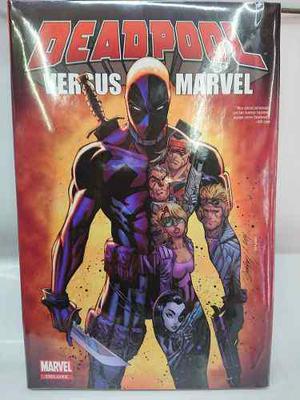 Marvel Comics Deluxe Deadpool Versus Marvel