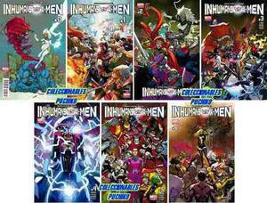 Marvel Comics Inhumans Vs X-men 0 1 2 3 4 5 6 Xmen Completa