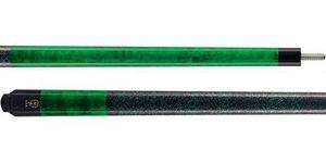 Mcdermott Gs05 Verde Esmeralda Manchas Pool / Billar Cue Sti