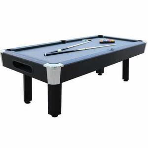 Mesa De Billar 8 Ft. Sportcraft Con Mesa De Ping Pong P
