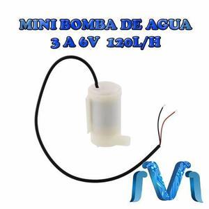 Mini Bomba De Agua 3 A 6v Sumergible 120l/h Sin Escobillas
